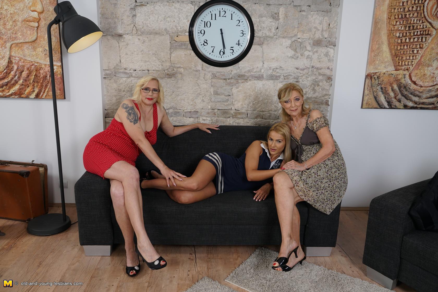 Young lesbian three