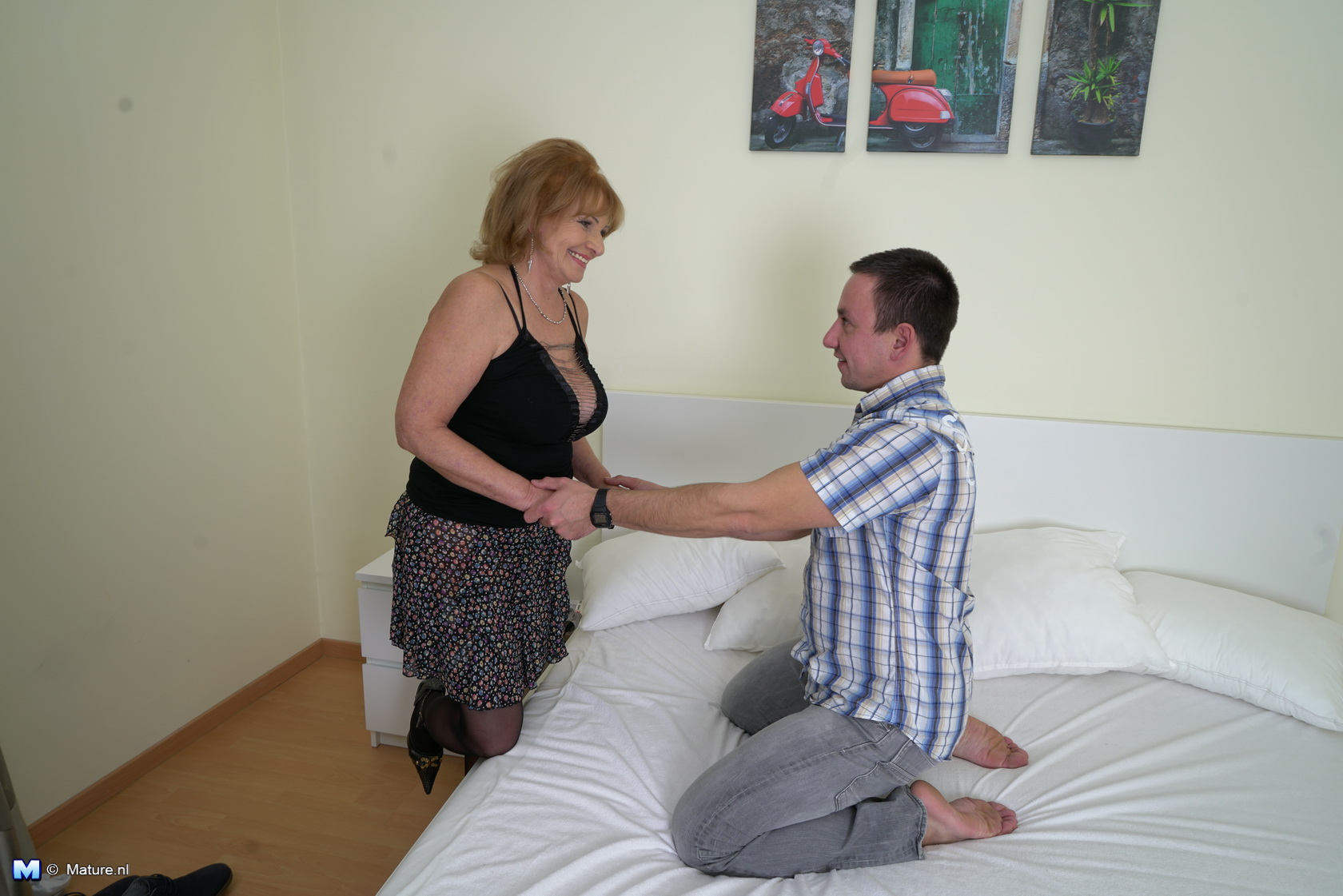 Humiliated spanked by another guy wife