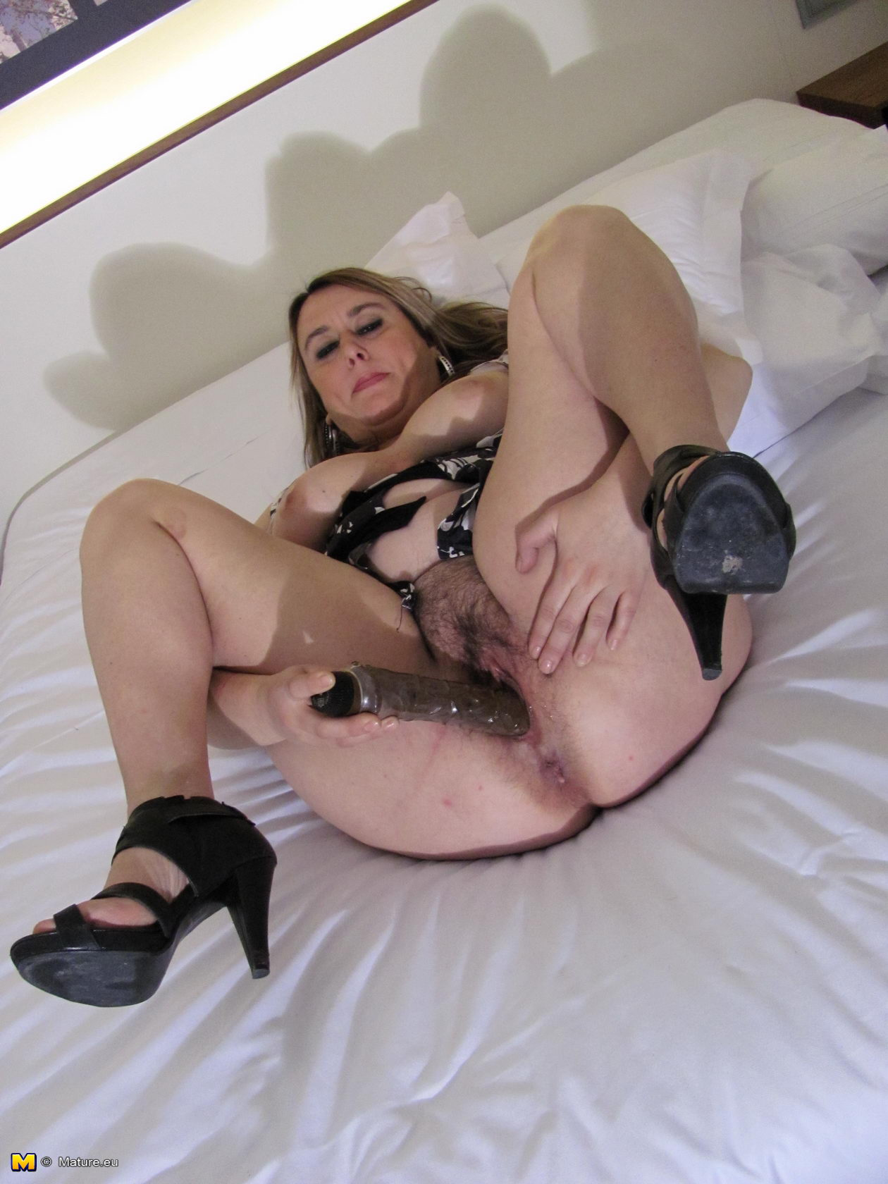 Chubby housewife hairy pussy consider