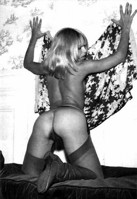 Vintage b&w porn