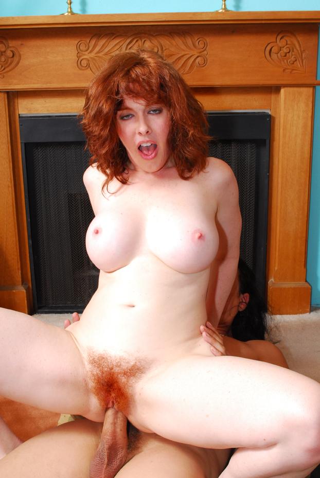 Fuck hairy mature redhead