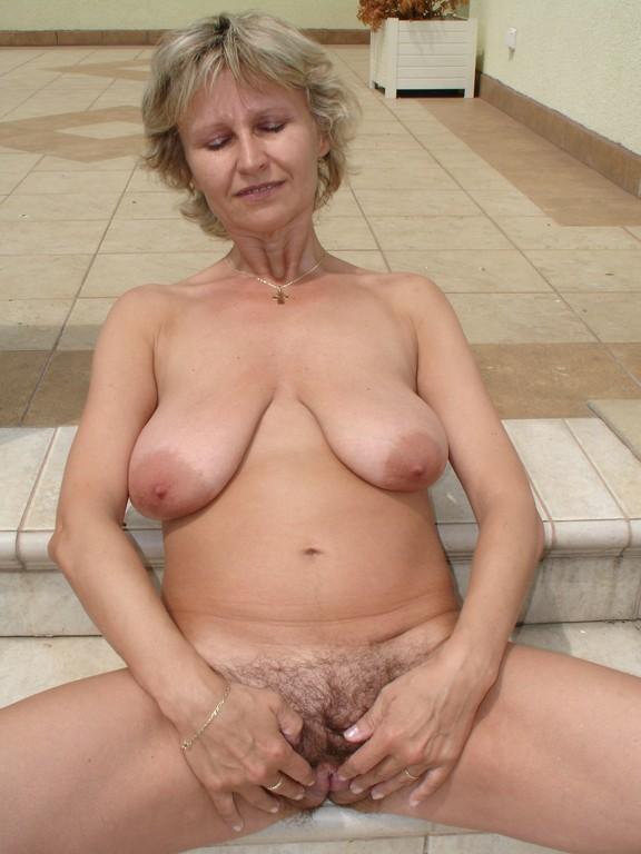 Horny milf senior