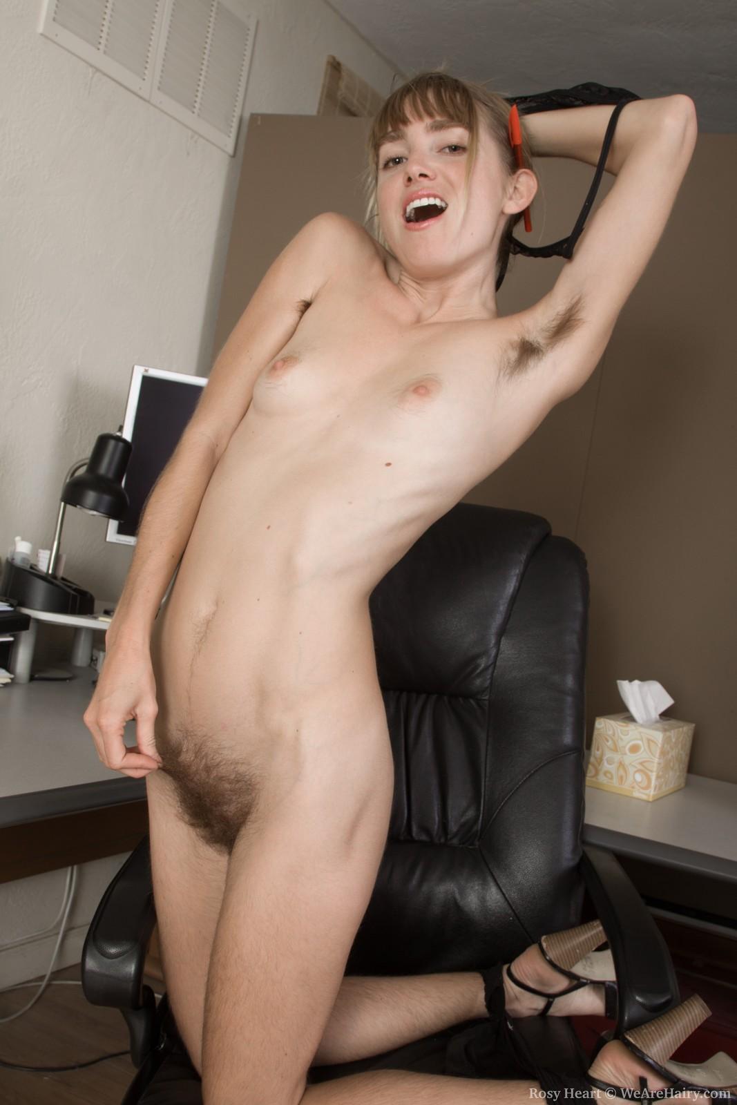 Very hairy nudist