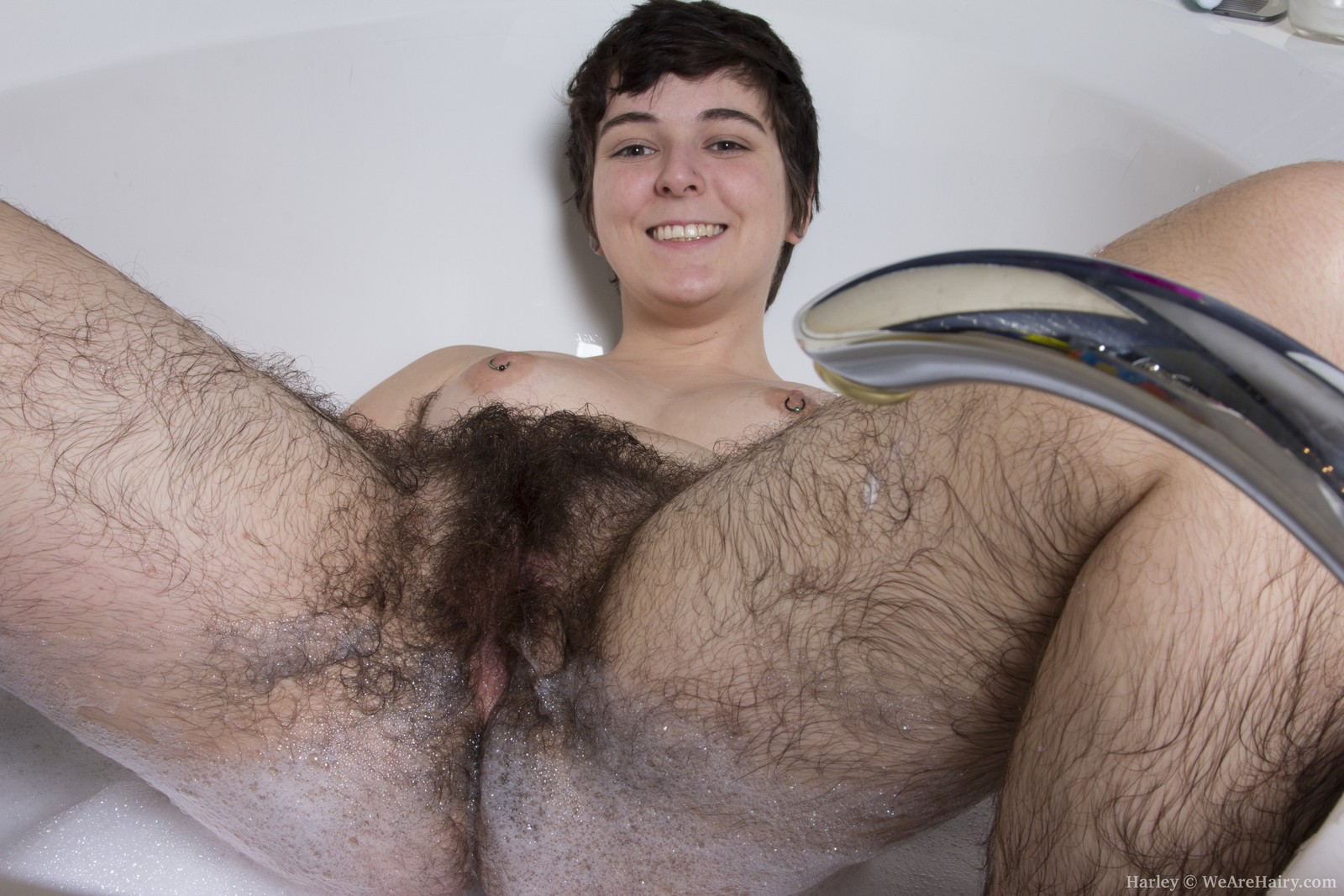 Between speaking, Teen extreme hairy pussy that