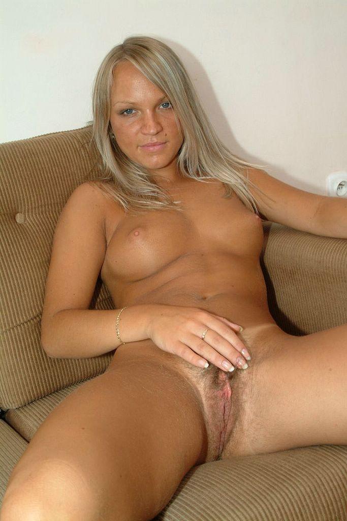 Hairy women nude blonde