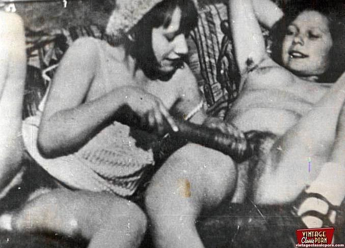 Wild hardcore vintage hairy nude lumberjack